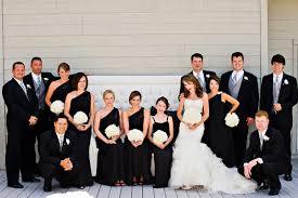 black and white wedding bridesmaid dresses black and white wedding invitations glendalough manor