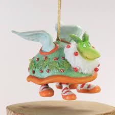 patience brewster mini turtle dove ornament wooden duck shoppe