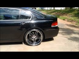 bmw staggered wheels and tires bmw 750 on staggered 22 s by rimtyme in jonesboro south atlanta