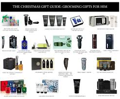 the christmas gift guide grooming gifts for him groomed u0026 glossy