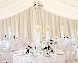 mariage et blanc idéé et photo décoration mariage décoration de la salle du