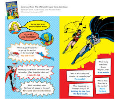 there u0027s an official dc superhero joke book filled with the worst