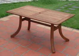 vifah atlantic outdoor rectangular patio table patio table