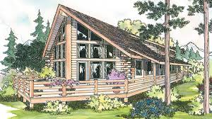Log House Plans House Plan 69360 At Familyhomeplans Com