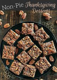 15 non pie desserts for thanksgiving day