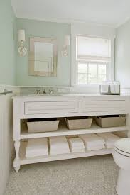Bathroom Vanity With Shelves Washstand With Shelves Cottage Bathroom D