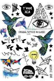 tattoo decal paper buy aliexpress com buy waterproof temporary tattoo sticker paper