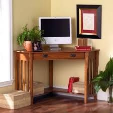 Oak Corner Computer Desk With Hutch Office Desk Home Office Desk Oak Image Of Solid Corner With