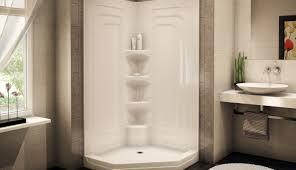 Lowes Bathroom Shower Kits by Shower Impressive Prefabricated Shower Stalls Corner Shower