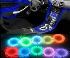 led lights for cars store 12 v flexible neon light waterproof led string lights el glow wire