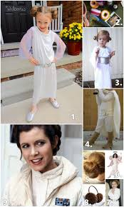 princess leia costume inspiration