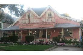 famous gingerbread house oak bluffs martha u0027s vineyard picture of