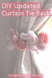 Curtains For Baby Nursery by 25 Best Curtain Tie Backs Ideas On Pinterest Diy Curtain