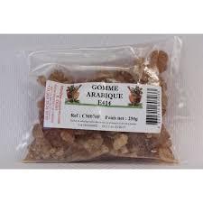 gomme arabique cuisine gomme arabique en sachet de 250 grammes achat vente gélifiant