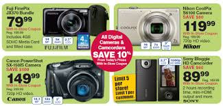 black friday point and shoot camera deals black friday 2011 fred meyer deals november 25 frugal living nw