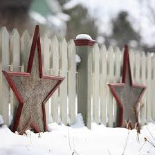 Outdoor Christmas Decorations Star by 7 Best Outdoor Holiday Decorating Images On Pinterest Merry