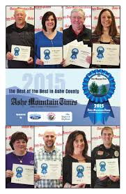 lexus amanda ronnie best of the best ashe county 2015 16 by mountain times