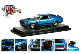 1970 Black Mustang 1970 Ford Mustang Boss 302 Hard Top By Castline M2 Machines