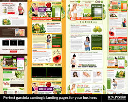 garcinia cambogia fruit landing page semanticflow