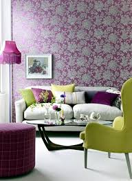 creative wall design in the living room ideas for colorful