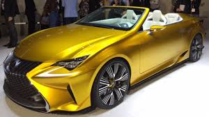 lexus yellow lexus unveils new u0027roofless u0027 luxury sports car at the 2014 l a