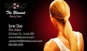 Business Cards Hair Stylist Hair Stylist U0026 Salon Business Cards Design Custom Business Cards