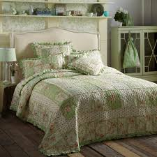 forever england emily green quilted bedspread single unavailable