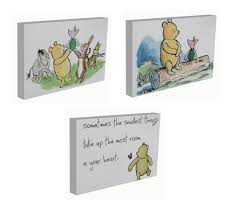 winnie the pooh canvas ebay classic winnie the pooh canvas pictures prints nursery bedroom 9 designs