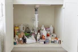how to organize the sink cabinet how to organize your bath sink cabinet the container