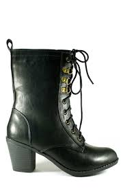 s boots lace up city classified unruly s black brown lace up combat