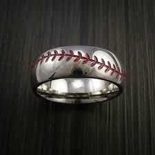 baseball wedding ring baseball wedding rings and bands by revolution jewelry made in the