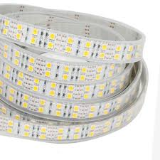 ip67 led strip lights dual row rgb super bright series dc24v 5050smd 600leds flexible led
