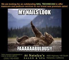 Nail Tech Meme - at natalya s salon spa home facebook