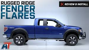 2009 2014 f150 rugged ridge fender flares review u0026 install youtube
