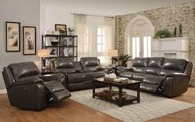 Leather Reclining Sofas And Loveseats by Red Barrel Studio Hughes Leather Reclining Sofa Wayfair