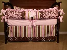 Pink And Brown Damask Crib Bedding Finding Pink And Brown Crib Bedding Sets 16 Amazing Brown Crib