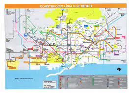 Second Avenue Subway Map by Barcelona L9 Subway Map Pinterest Subway Map And Public
