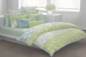 green duvet sets color and comfort together home and textiles