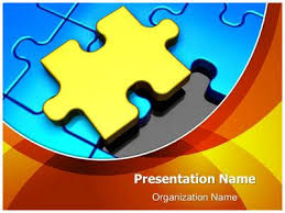 puzzle piece missing powerpoint template is one of the best
