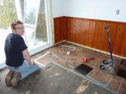 use the floating tile floor for your home styleshouse