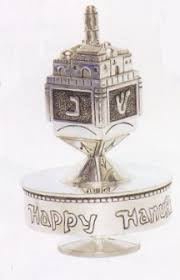musical dreidel silver dreidel box