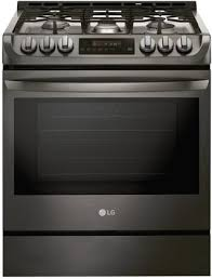 Slide In Cooktop Lg Lsg4511bd 30 Inch Slide In Gas Range With Sealed Burner Cooktop