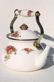 country roses tea set vintage tea pots tea cups and saucers