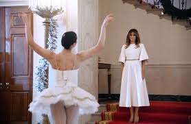 central ny native performs ballet for melania trump at white house