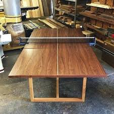 outdoor table tennis dining table make a ping pong table naderve info