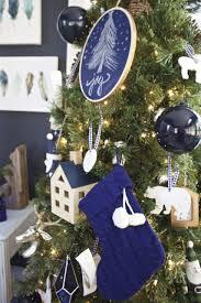 amazon com houndstooth christmas ornaments 4pk black u0026 white