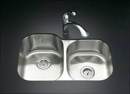 Stainless Steel Kitchen Sink Strainer - kohler stainless steel kitchen sinks undermount sink strainer drop