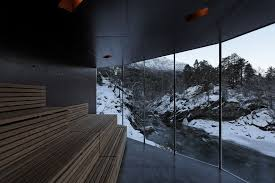 river sauna jensen u0026 skodvin architects archdaily
