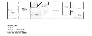 3 bedroom mobile home for sale 18 wide mobile homes model 351 18x76 wind zone 1 and 2 only 3bedroom