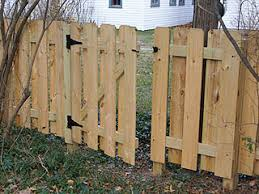 Gate For Backyard Fence How To Build A Small Gate For A Backyard Fence Home Projects